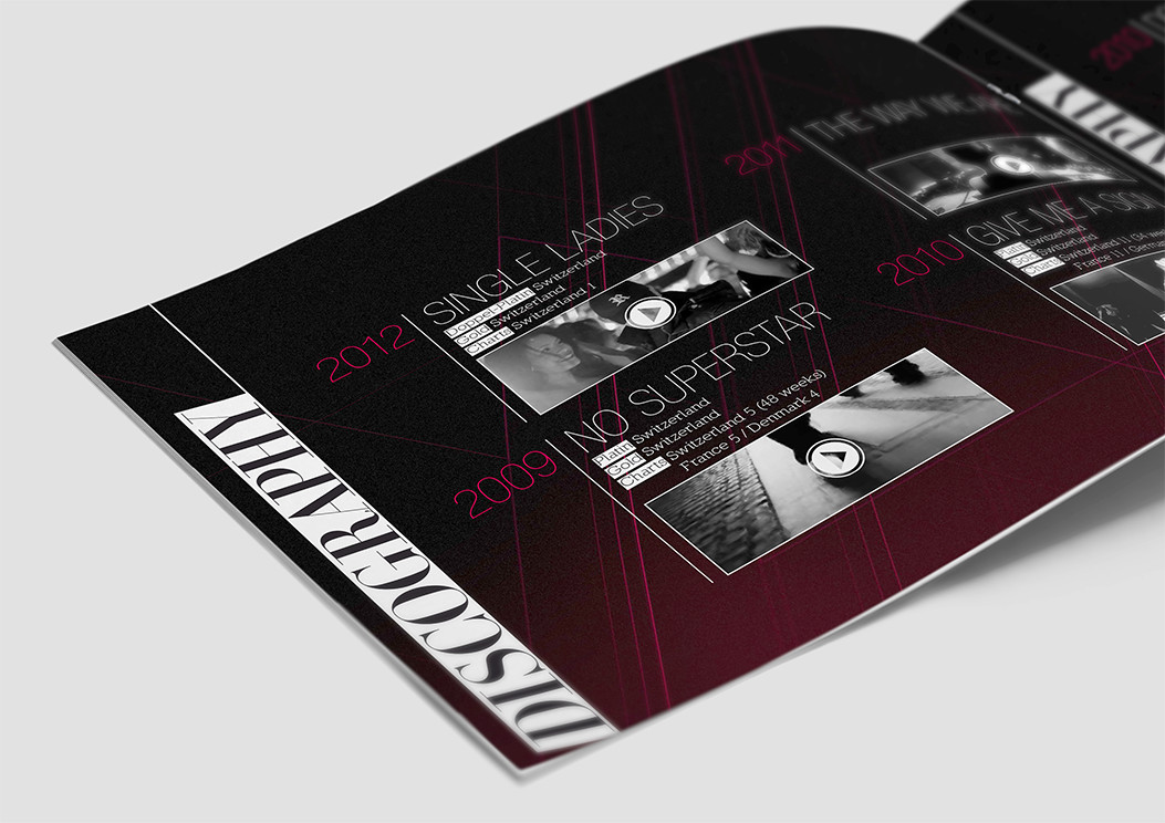 Dj press kit design remady umo creative studio video for Press kit design