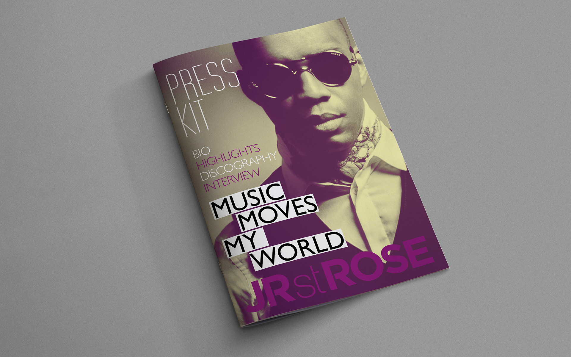 Press Kit Design Jr St Rose Umo Creative Studio